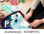 summer vacation  travel ... | Shutterstock . vector #415389751
