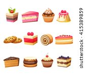 cakes pastry and sweet desserts
