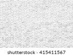 white brick wall | Shutterstock . vector #415411567