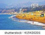 Ocean Beach In Santa Monica As...