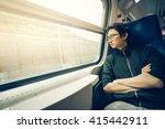 handsome asian man looking... | Shutterstock . vector #415442911
