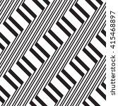 black and white geometric... | Shutterstock .eps vector #415468897