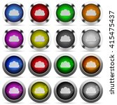 set of cloud glossy web buttons....
