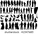 big collection of different... | Shutterstock . vector #41547685