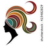 illustration vector of women... | Shutterstock .eps vector #415482829
