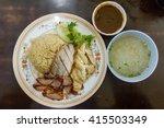 Oily Rice With Bbq Pork  Crisp...