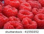 raspberries. this image is... | Shutterstock . vector #41550352