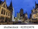 Historical Centre Of Ghent With ...