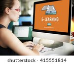 learning education improvement... | Shutterstock . vector #415551814