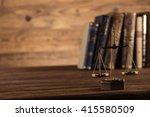 statue of justice  burden of... | Shutterstock . vector #415580509