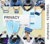 Small photo of Privacy Confidential Protection Security Solitude Concept