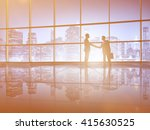 successful business deal... | Shutterstock . vector #415630525