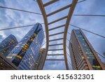 pubic skywalk at bangkok... | Shutterstock . vector #415632301