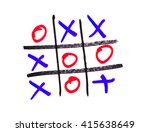 xo game | Shutterstock . vector #415638649