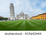 leaning tower of pisa  italy | Shutterstock . vector #415642444