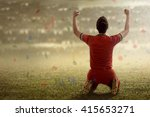image of winning football... | Shutterstock . vector #415653271