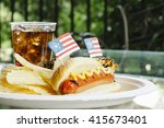 4th of july hotdogs