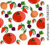 seamless depicting four... | Shutterstock .eps vector #415681339
