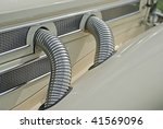 automobile exhaust system... | Shutterstock . vector #41569096