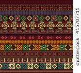 ethnic boho seamless pattern.... | Shutterstock .eps vector #415707715