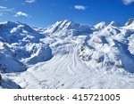 matterhorn scene from gornegrat ... | Shutterstock . vector #415721005