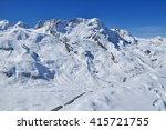 matterhorn scene from gornegrat ... | Shutterstock . vector #415721755