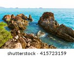 chai chet cape close to klong... | Shutterstock . vector #415723159