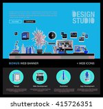 modern flat cartoon technic web ...