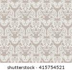 luxurious glamorous baroque...   Shutterstock .eps vector #415754521