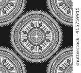 seamless elegant pattern on a... | Shutterstock .eps vector #415759915