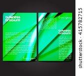 vector brochure template design ... | Shutterstock .eps vector #415782715