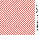 red herringbone fabric seamless ... | Shutterstock .eps vector #415800961