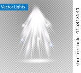 vector spotlights. scene. light ...   Shutterstock .eps vector #415818541