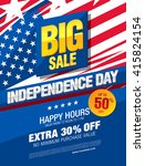 independence day sale banner... | Shutterstock .eps vector #415824154