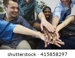 one for all  all for one | Shutterstock . vector #415858297
