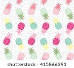 pineapple | Shutterstock .eps vector #415866391