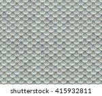 Silver Fish Scale Texture Or...