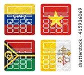 nation flag. calculator... | Shutterstock . vector #415936069