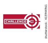 quote challenge. business... | Shutterstock .eps vector #415944961