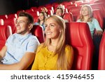 cinema  entertainment and... | Shutterstock . vector #415946455