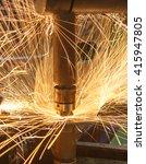 industrial  automotive part... | Shutterstock . vector #415947805