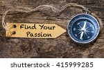 find your passion   motivation... | Shutterstock . vector #415999285