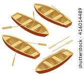 Постер, плакат: Rowing boat Rowing boat