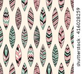 vector seamless pattern with... | Shutterstock .eps vector #416028259
