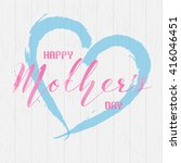 Happy Mother's Day Wording Wit...
