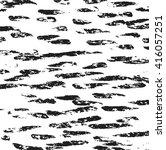 striped grunge black and white... | Shutterstock .eps vector #416057251