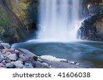 beautiful minnehaha falls...   Shutterstock . vector #41606038