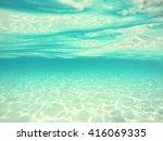 Underwater Background With...