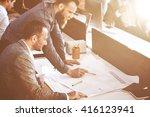 business corporation... | Shutterstock . vector #416123941
