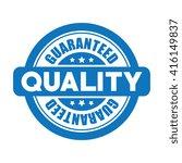 Guaranteed Quality Vector Label